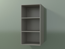 Wall tall cabinet (8DUBBD01, Clay C37, L 36, P 36, H 72 cm)