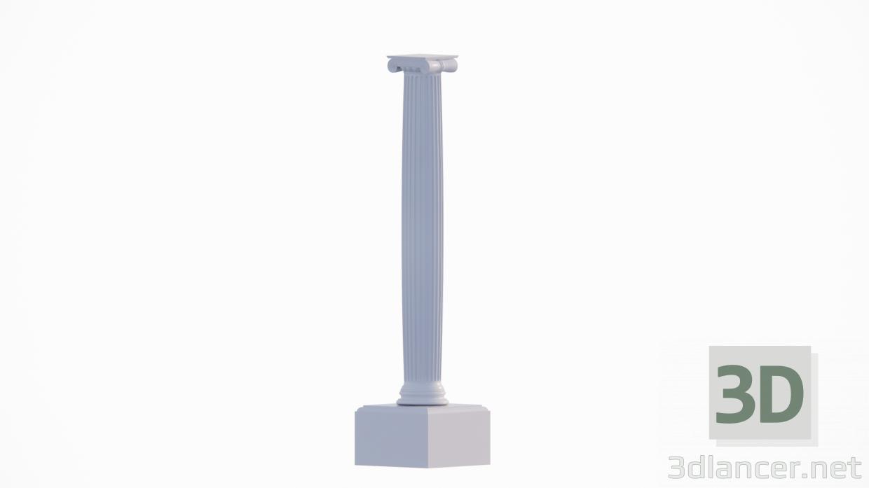 3d Column model buy - render
