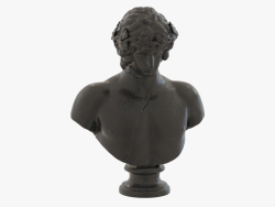 Бронзовый бюст Bust of Antinous