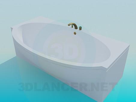 modèle 3D Salle de bain - preview