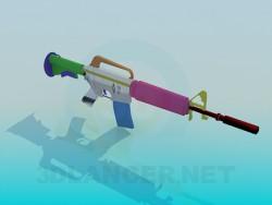 Rifle M4A1-silencer