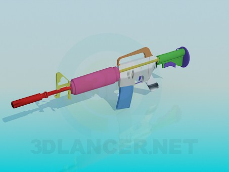 3d model Rifle - preview