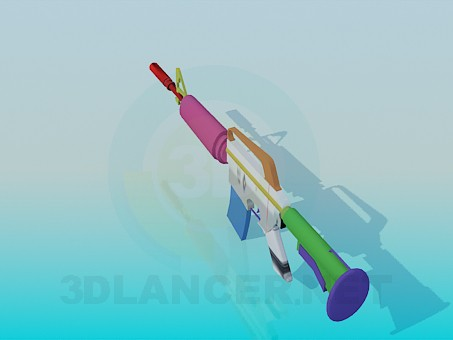 3d модель Гвинтівка – превью