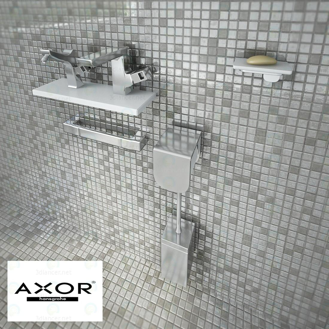 3d Набір Axor urquiola модель купити - зображення