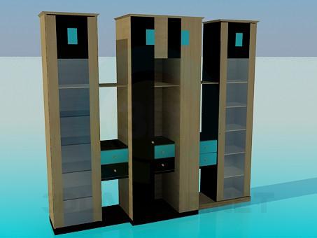 modelo 3D Dejar de lado - escuchar