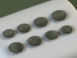 Coins: 1, 2, 5, 10 hryvnias.
