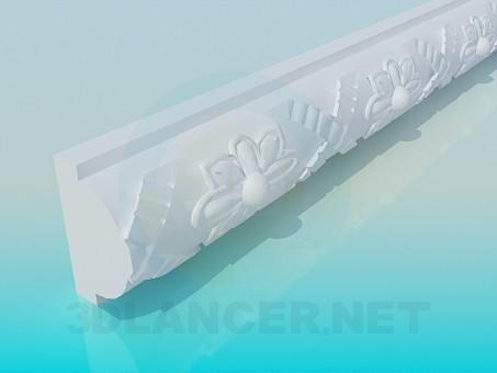 descarga gratuita de 3D modelado modelo Moldeado de polietileno alta