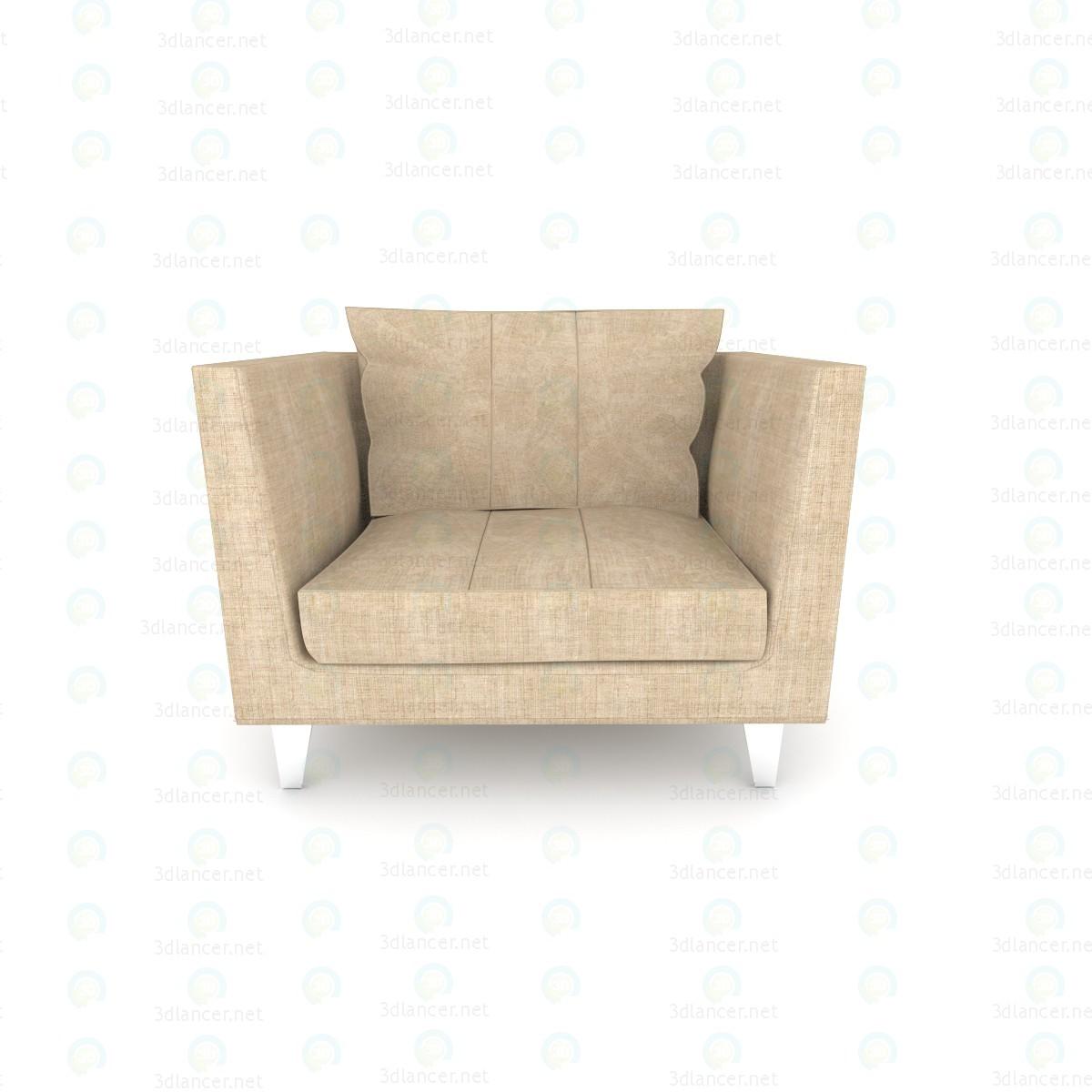 Chaise pour la salle de séjour payés modèle 3d par psyromati extrait