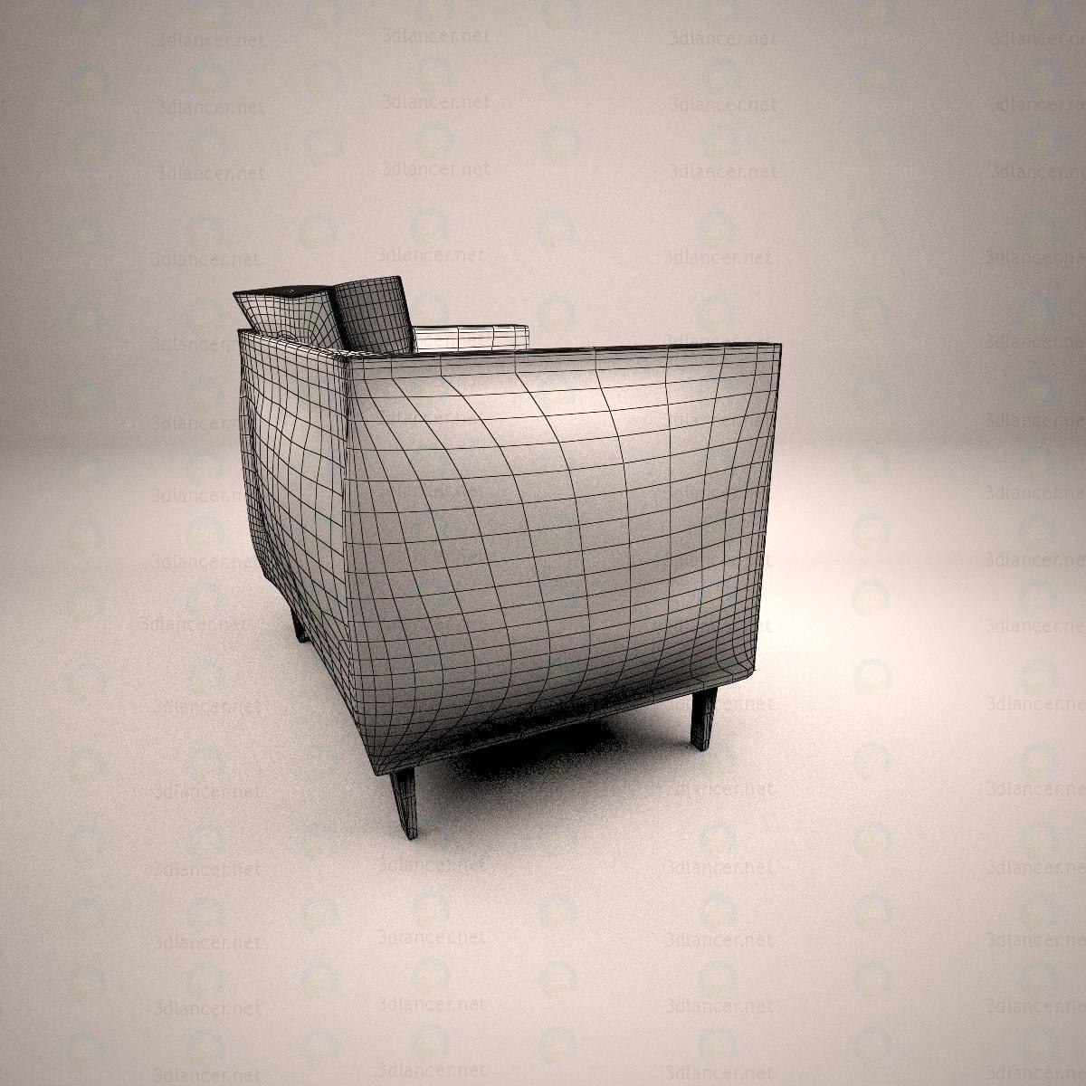 3d Крісло для вітальні модель купити - зображення