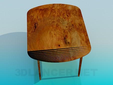 modelo 3D Mesa de comedor - escuchar