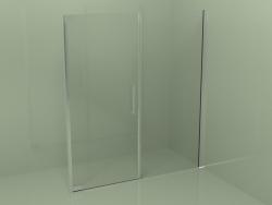 Frameless shower cubicle (F2)