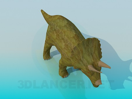 3d modeling Dinosaur model free download