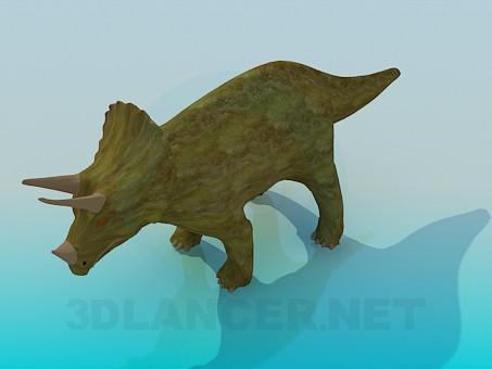 modelo 3D Dinosaurio - escuchar