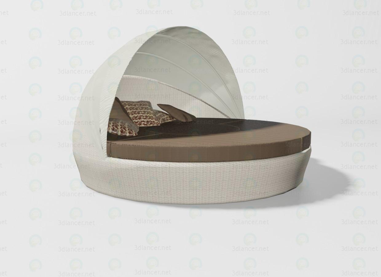 3d модель Baleares кровать – превью