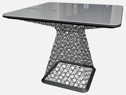 Table Base dining table 90 x 90 65730 5801