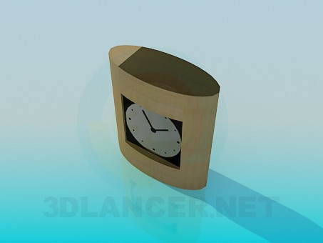 3d модель Часы настольные – превью