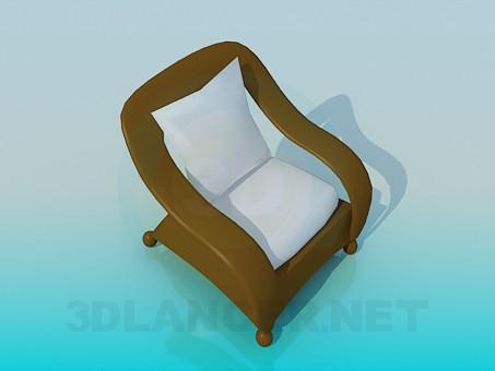 modelo 3D Silla original - escuchar