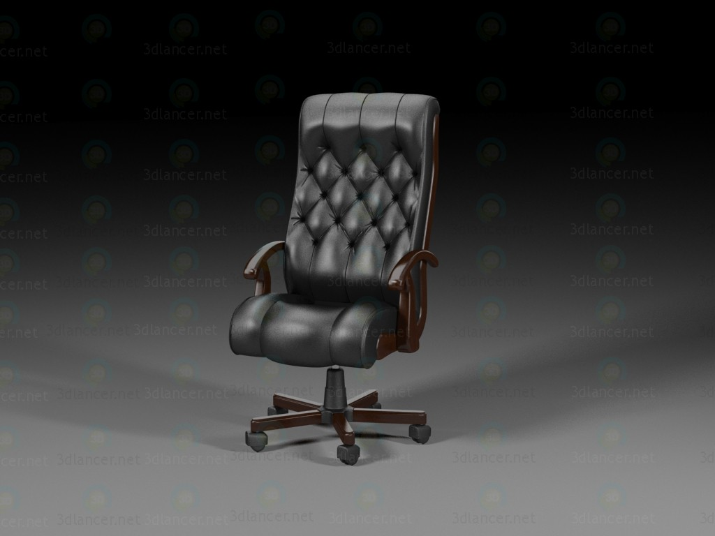 3d model Directors chair - preview