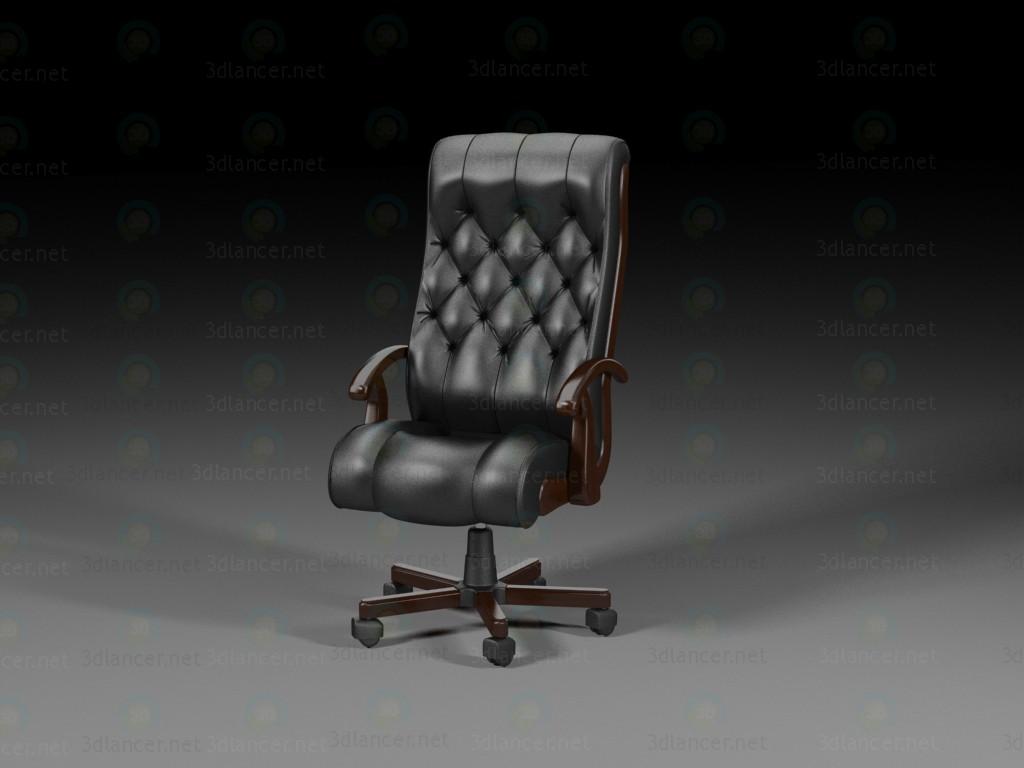 3d модель Кресло директора – превью