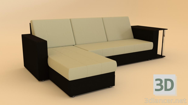 3 डी सोफे मॉडल खरीद - रेंडर