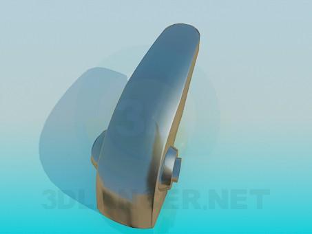 3d модель Кнопковий змішувач – превью
