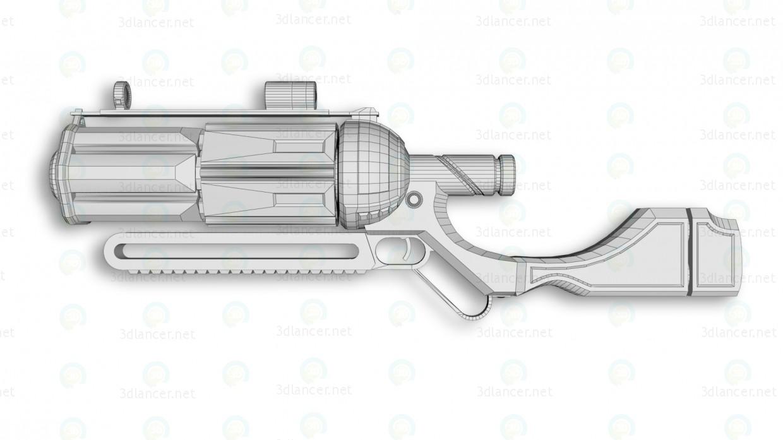 "Rifle ""Bulldog"" 3D modelo Compro - render"