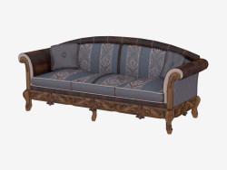 Canapé classique à trois places