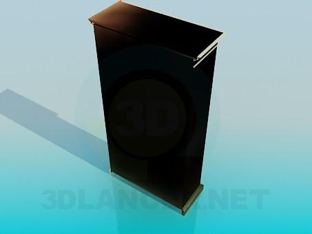 modelo 3D Aparador de - escuchar