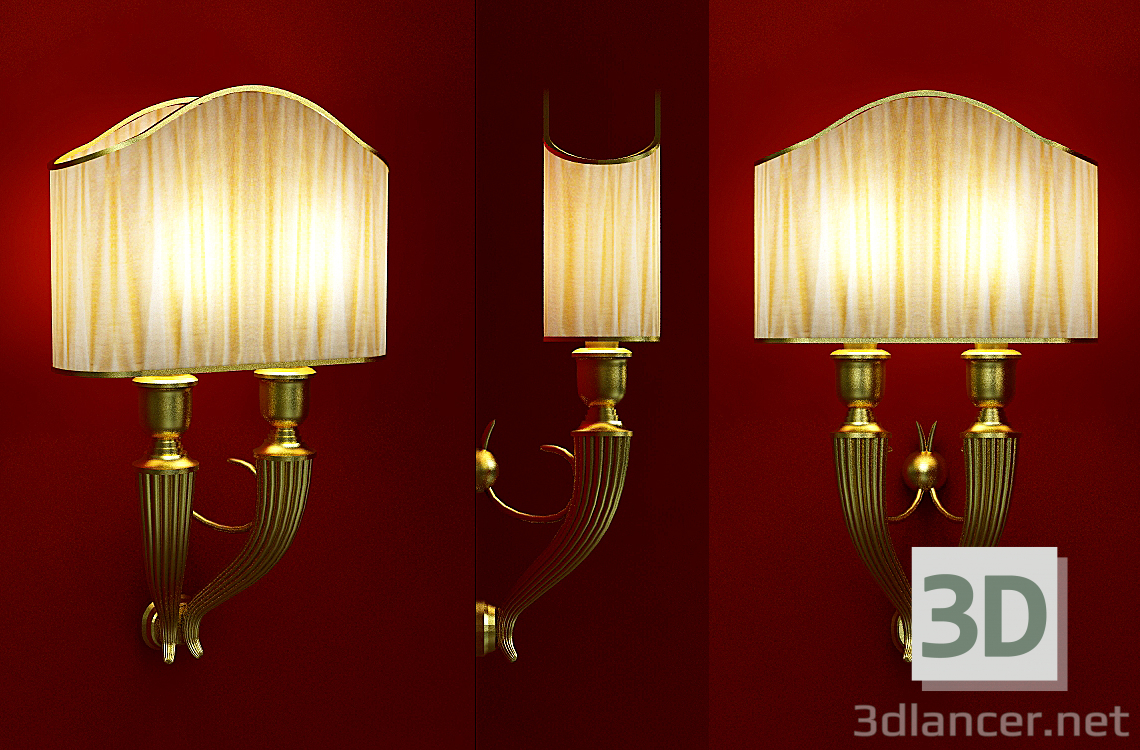 3d model Sconce - preview