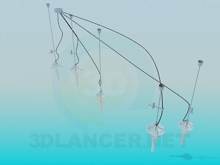 modelo 3D Kit de iluminación - escuchar