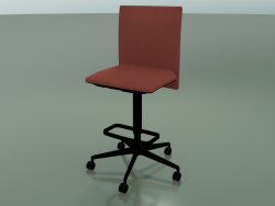 Stool 6505 (5 wheels, with removable padding, V39)