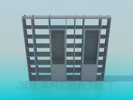 3d modeling Rack for books model free download