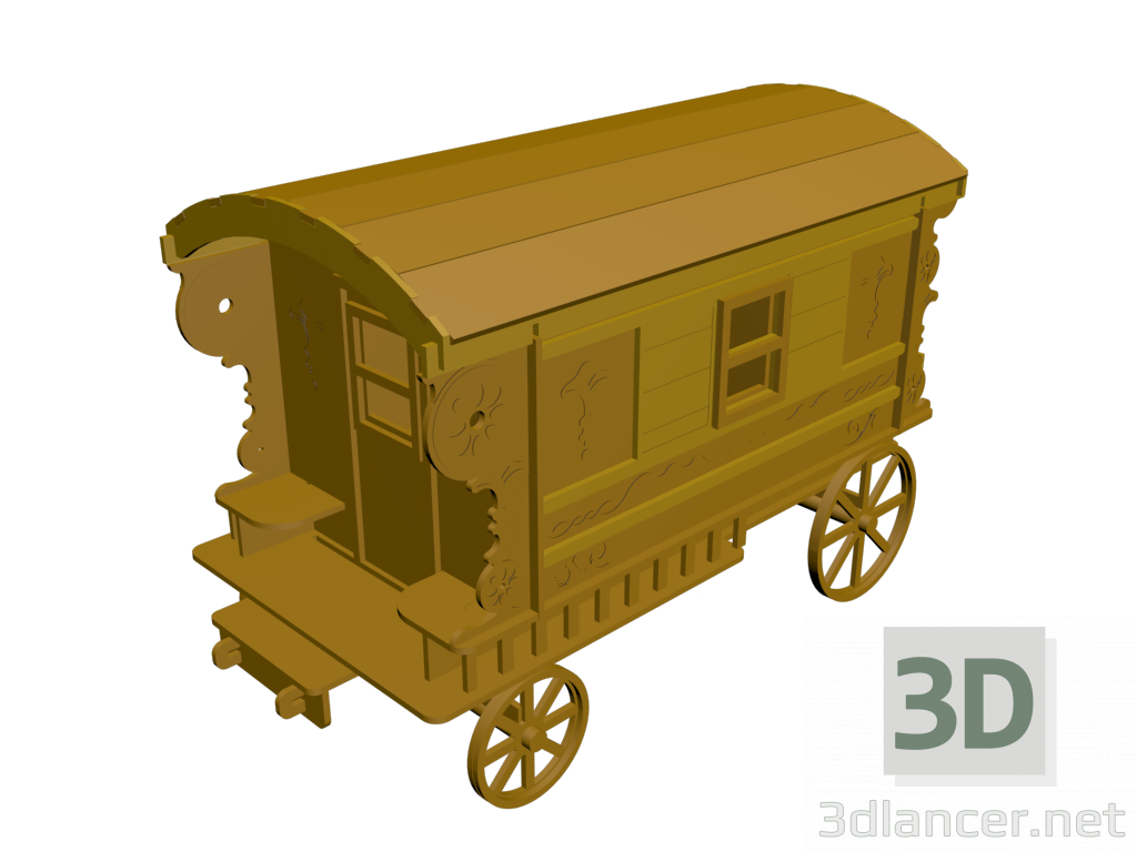 3d model Carriage - preview