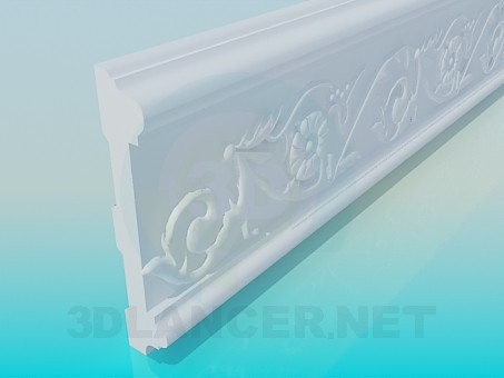 3d model Ceiling Frames High Poly - preview