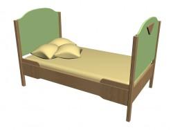Ліжко 63KV01