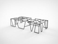 Coffee table CARBONO 41