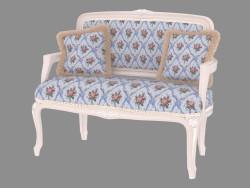 Canapé double classique