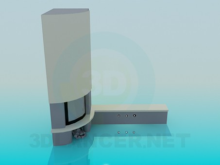 3d model Dresser - preview