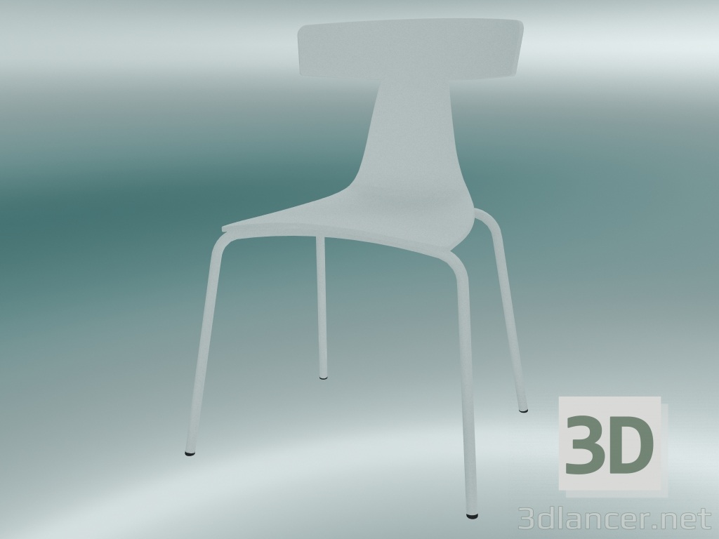3d Model Stackable Chair Remo Plastic Chair 1417 20