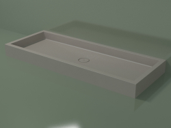 Shower tray Alto (30UA0114, Clay C37, 180x70 cm)