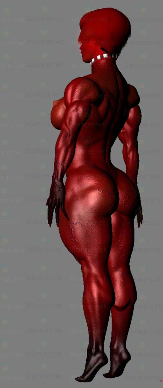 3d Demon girl model buy - render
