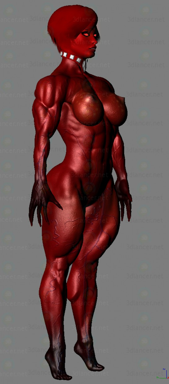 3d Жінка-демон модель купити - зображення