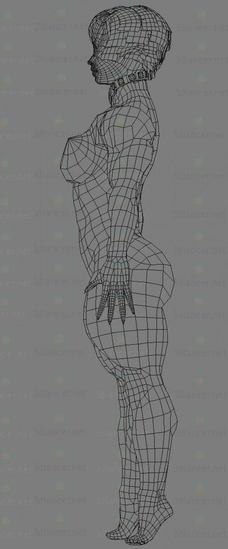 Chica demonio 3D modelo Compro - render