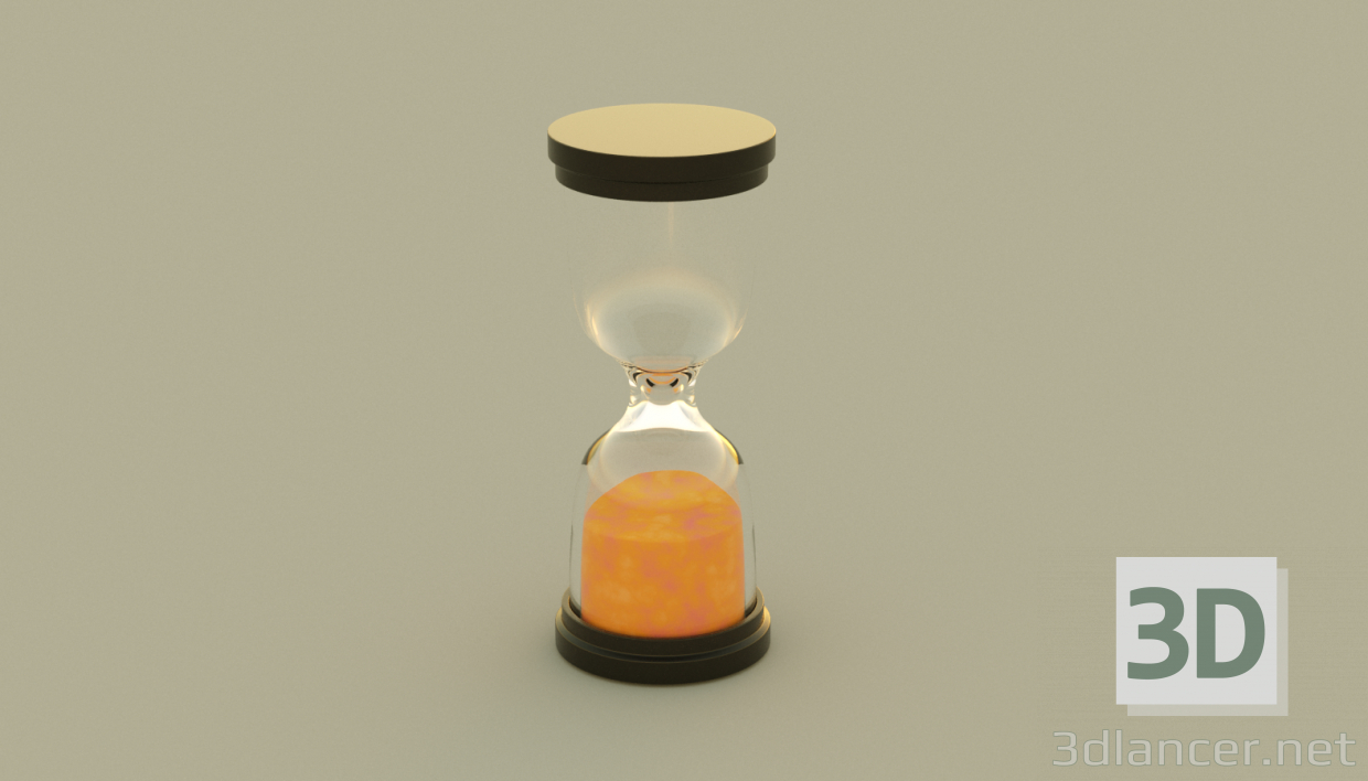 3d model SandWatch - preview