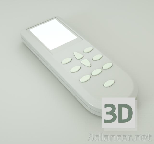3d Control model buy - render