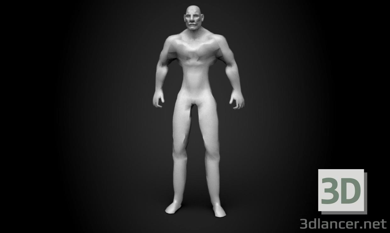 3d body model buy - render