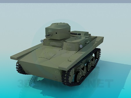 descarga gratuita de 3D modelado modelo T-37A