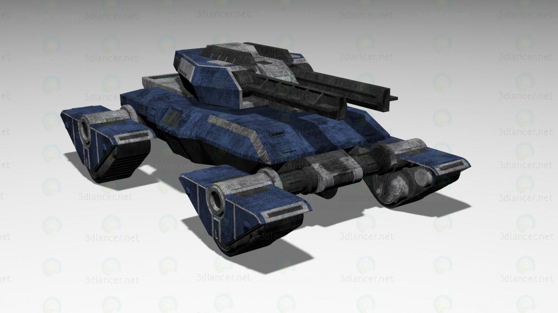 """Tanque """"Gladiator"""" pagado modelo 3d por escuchar RC"""