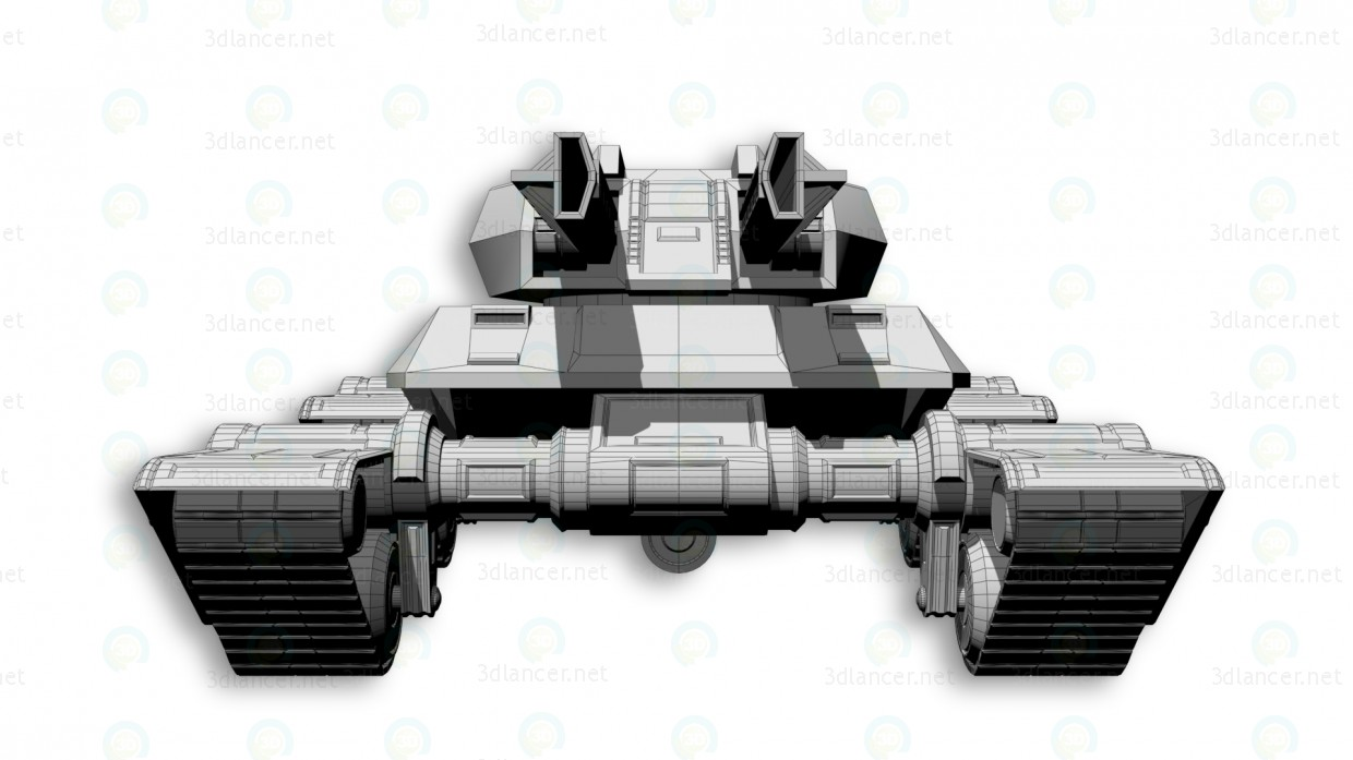 "3d Tank ""Gladiator"" model buy - render"