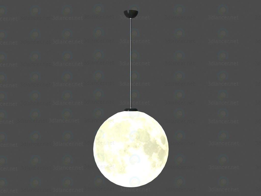 Lamp Moon paid 3d model by Oleksii84 preview